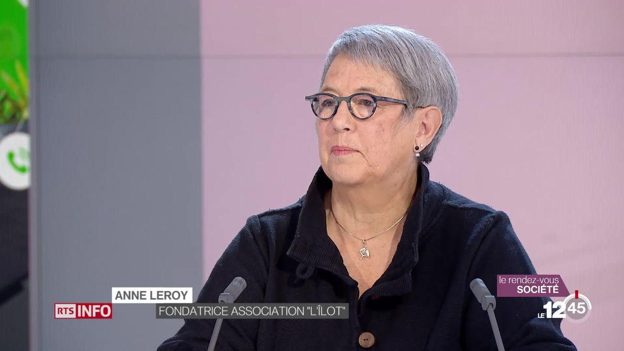 Une personne sur cent est touchée par la schizophrénie en Suisse. Le point de vue d'Anne Leroy, responsable associative. [RTS]