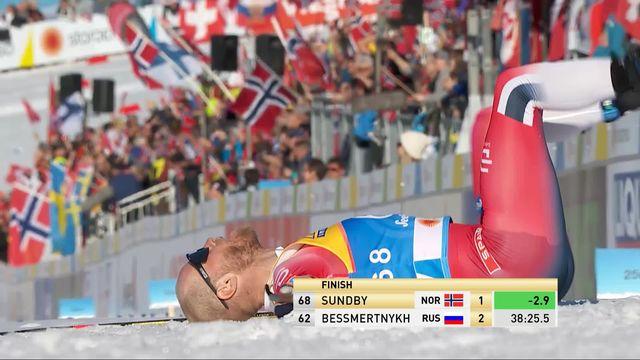 Seefeld (AUT), 15km messieurs: victoire de Martin Sundby (NOR) [RTS]