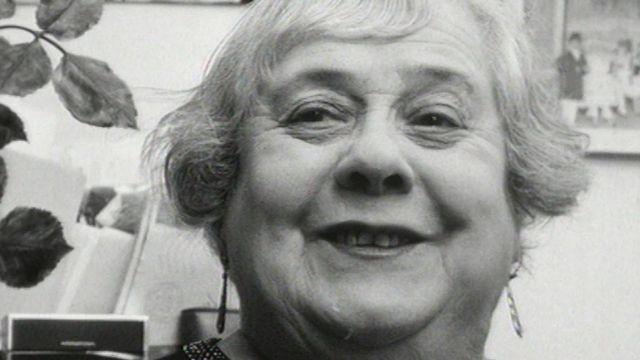 Luce Spaldy, ancienne artiste de revues en 1973. [RTS]
