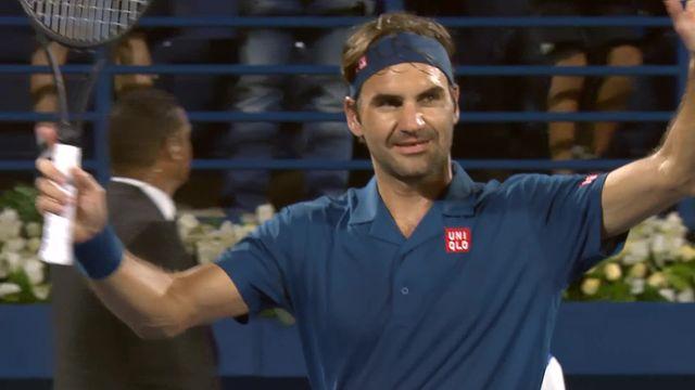 ATP Dubai, 1-8e, F.Verdasco (ESP) - R.Federer (SUI) (3-6, 6-3, 3-6): Federer s'impose et affrontera Fucsovics en 1-4e de finale [RTS]