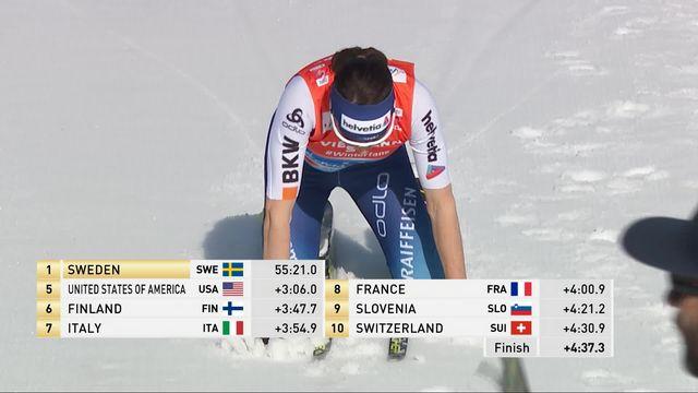 Mondiaux de Seefeld, relais 4x5km dames: le relais suisse termine au 10ème rang [RTS]
