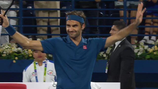 ATP Dubaï, M.Fucsovics (HON) battu par R.Federer (SUI) (6-7, 4-6) qui poursuit sa route à Dubaï [RTS]
