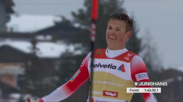 Mondiaux de Seefeld, relais 4x10km messieurs: la Norvège en or devant la Russie et la France. Le relais suisse termine 8ème [RTS]