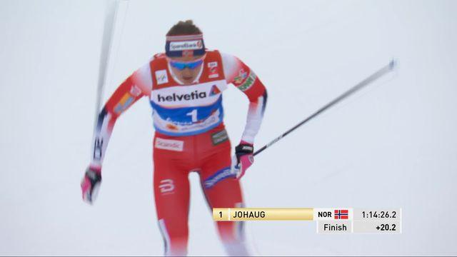 Mondiaux de Seefeld, 30km dames: Johaug (NOR) s'impose devant Oestberg (NOR) et Karlsson (SUE) [RTS]