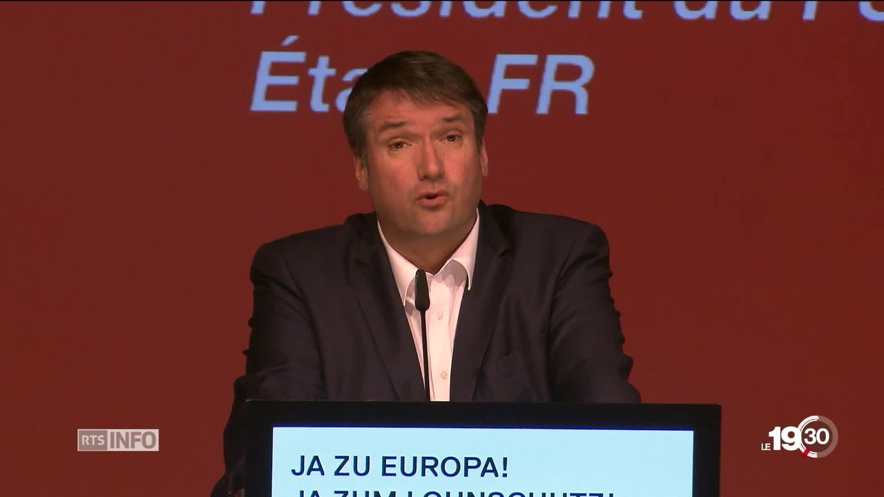 Le parti socialiste suisse divisé cherche une majorité pour rallier l'accord-cadre européen. [RTS]
