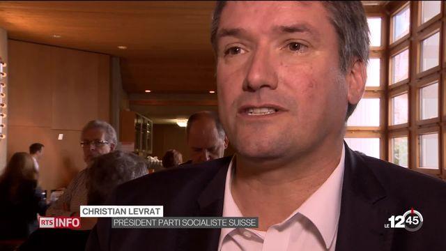 Accord-cadre entre la Suisse et l'Union européenne: le PS envisage des solutions pour le rendre acceptable. [RTS]
