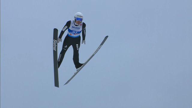 Saut à ski: Simon Ammann [RTS]