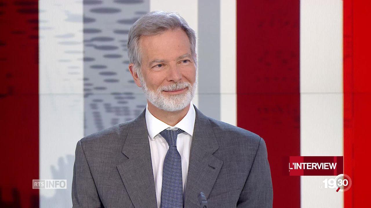 Le docteur Philippe Eggimann, ardent défenseur des médecins dans le débat sur les coûts de la santé. [RTS]