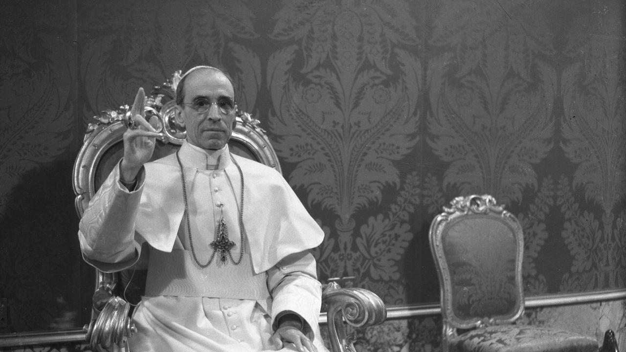 Une photo de pape Pie XII, découverte dans les archives du Vatican en 2009. [Archives du Vatican - Reuters]