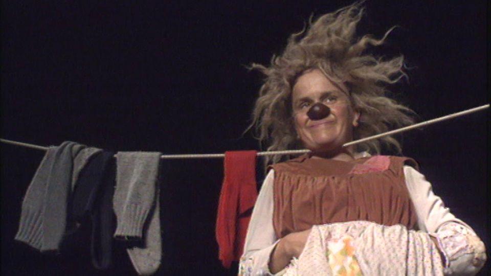 Une femme clown [RTS]