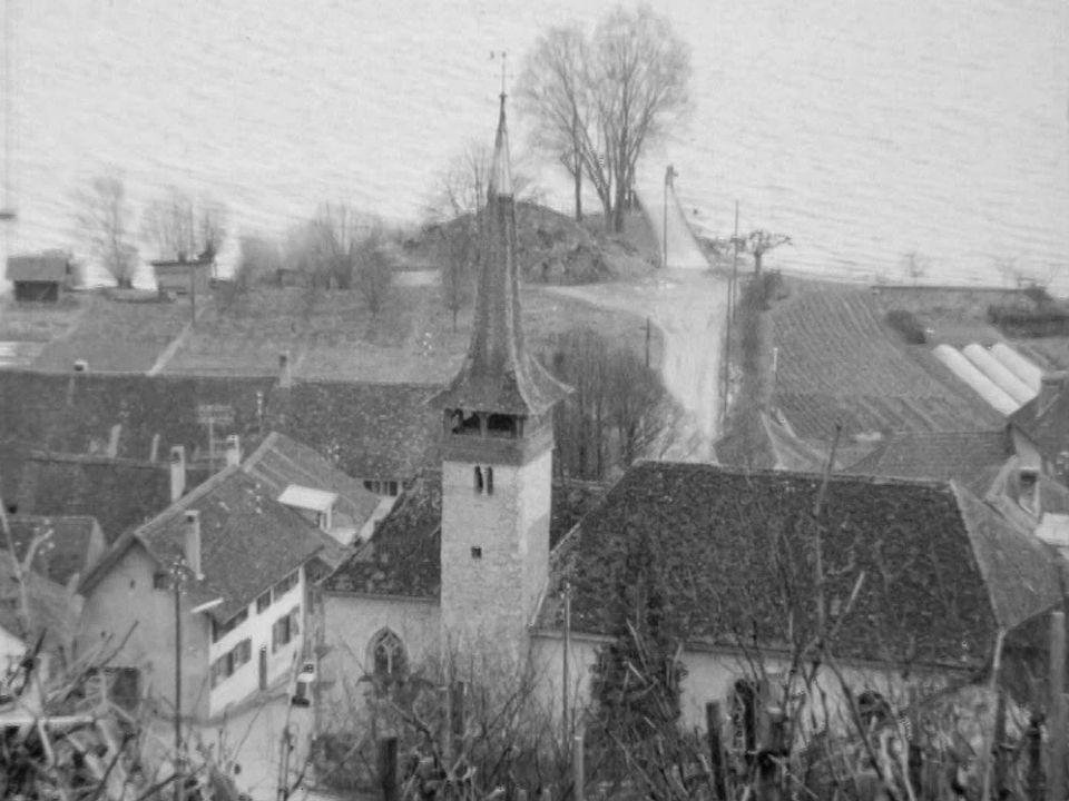 Môtier, au pied du Mont-Vully [RTS]