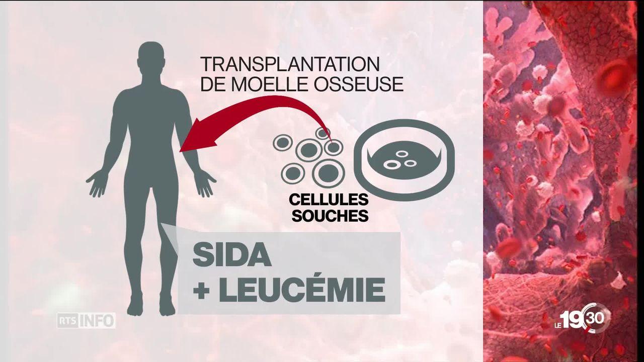 Un 2ème malade du VIH a été guéri de la maladie suite à une transplantation de moelle osseuse. [RTS]