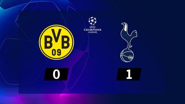 1-8e retour, B. Dortmund - Tottenham (0-1): le résumé de la rencontre