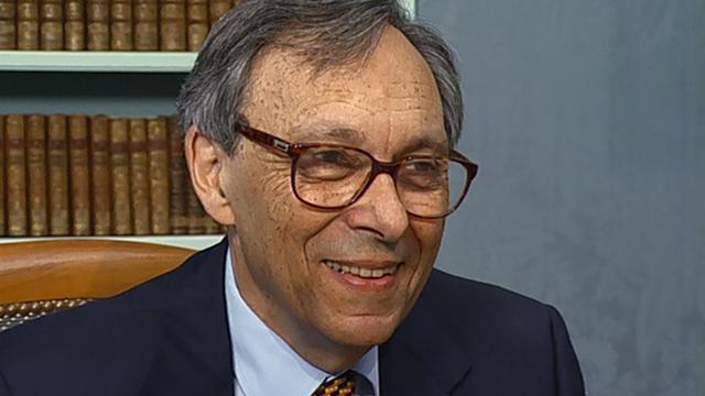 Jean Starobinski en 2001. [RTS]