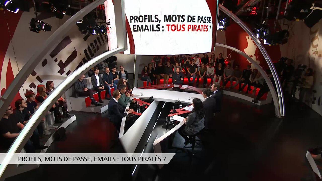 Profils, mots de passe, emails: tous piratés? [RTS]