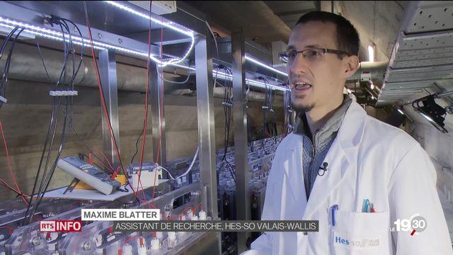 A Sion, des chercheurs ont réussi à produire de l'électricité à partir des microbes présents dans les eaux usées [RTS]