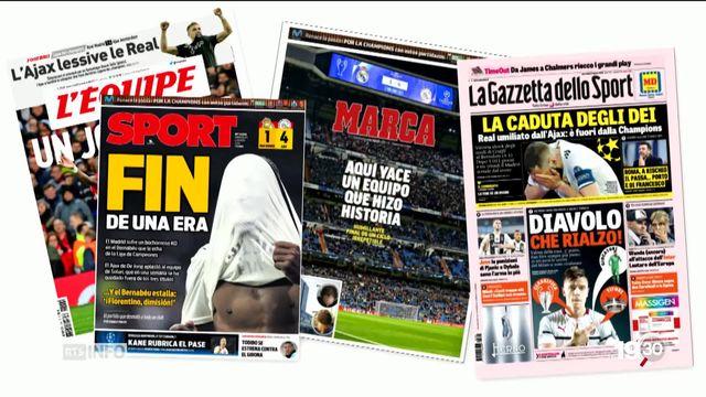 Ligue des Champions: le Real de Madrid sort par la petite porte dès les 8e de finales [RTS]