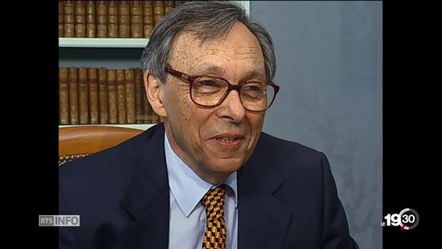 Décès de l'éminent homme de lettres genevois Jean Starobinski à l'âge de 98 ans [RTS]