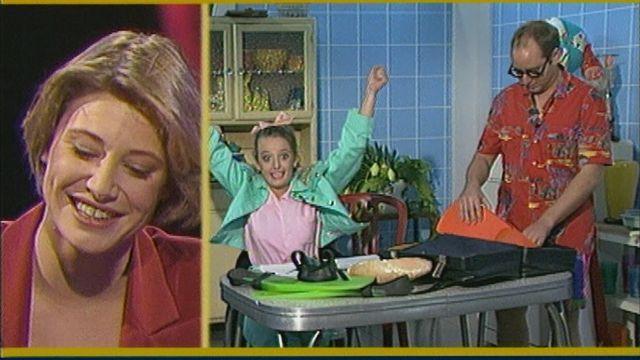 Les débuts de Brigitte Rosset à la télévision. Youpi! [RTS]