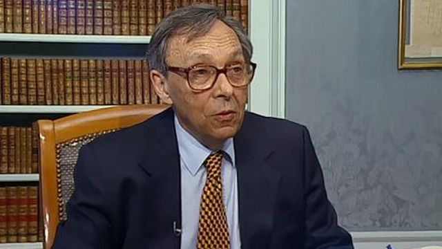 Jean Starobinski, 2001 [RTS]