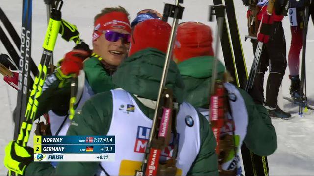 La Norvège championne du monde en relais mixte [RTS]