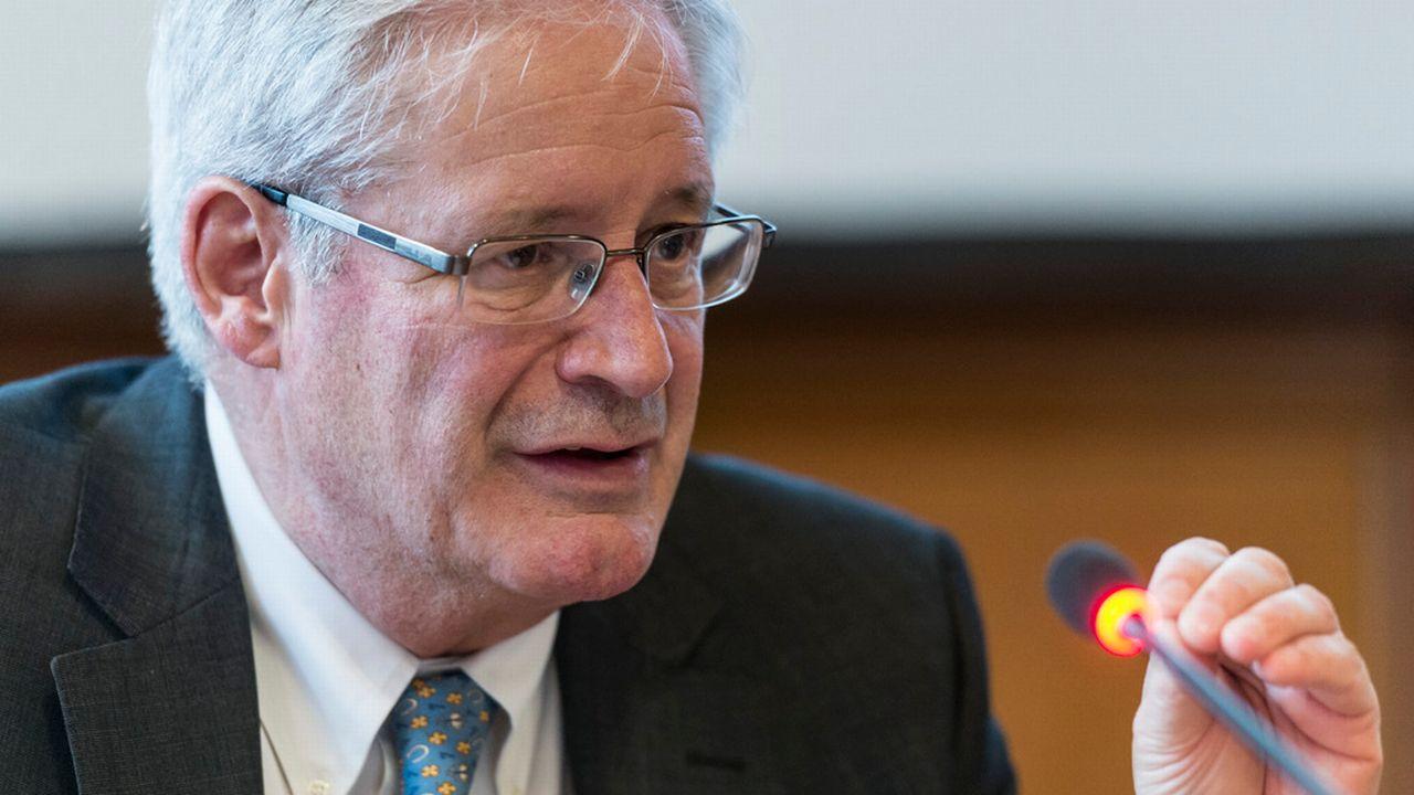 Jean Zermatten, ancien président du comité des droits de l'enfant de l'ONU. [Alessandro della Valle - Keystone]