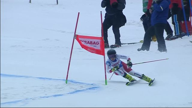 Spindleruv Myln (CZE), Géant dames 1re manche: Simone Wild (SUI) [RTS]