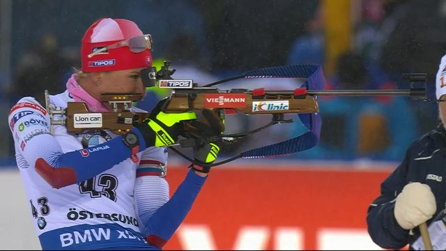 Ostersund (SUE), sprint dames: la Slovaque Anastasiya Kuzmina championne du monde [RTS]