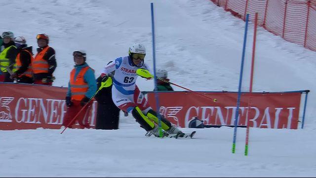 Spindleruv Myln (CZE), slalom dames 2ème manche: Wendy Holdener (SUI) [RTS]