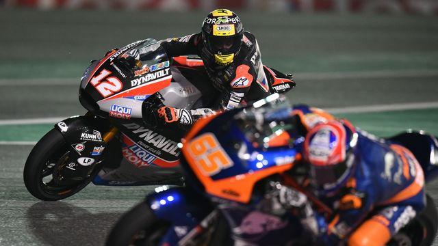 Thomas Lüthi retrouve la Moto2 après une saison très compliquée en MotoGP. [Noushad Thekkayil - Keystone]