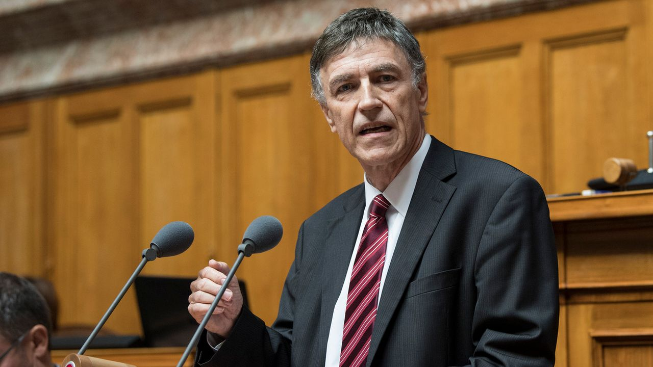 Luzi Stamm prend une pause parlementaire. [Peter Schneider - Keystone]