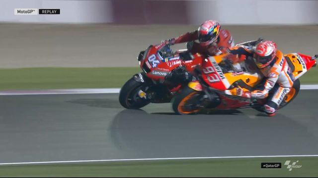 GP du Qatar, moto GP: Dovizioso (ITA) remporte la première course de la saison [RTS]