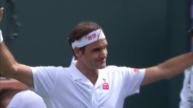 Indian Wells (USA), 2e tour: R. Federer (SUI) - P. Gojowczyk (GER) 6-4 7-5 [RTS]