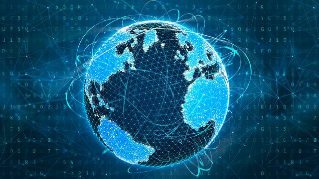 La communication mondiale. [Sergii Iaremenko - AFP/SIA/Science Photo Library]