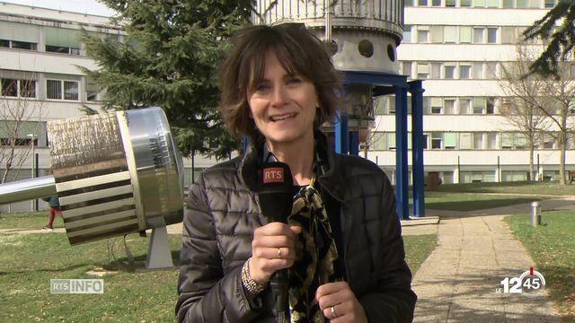 Explications sur l'évolution d'internet avec Tania Chytil au CERN. [RTS]