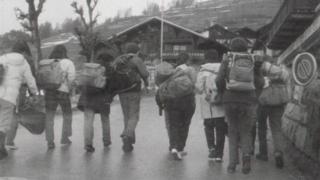 La jeunesse scout en 1970. [RTS]
