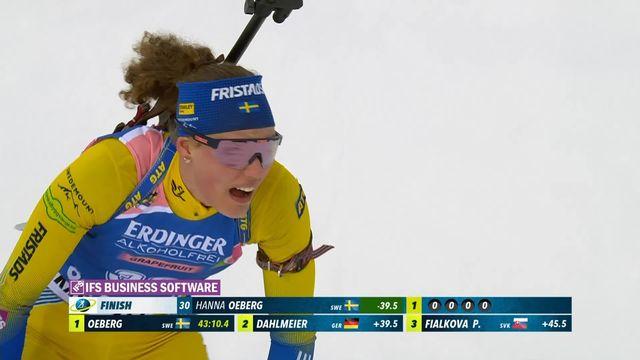Ostersund (SUE), individuel dames: Oeberg (SUE) remporte la course [RTS]