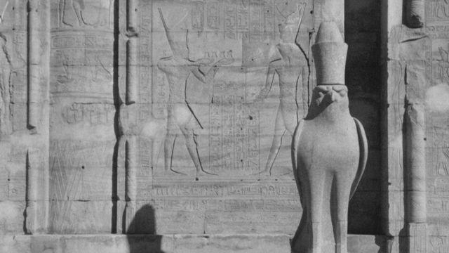 Site archéologique en Egypte en 1965. [RTS]
