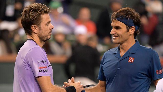 Federer mène désormais 22-3 contre Wawrinka dans les duels. [Mark J. Terrill - Keystone]