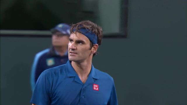 Indian Wells (USA), 1-16e : S.Wawrinka – R.Federer 3-6, 4-6: la balle de match [RTS]