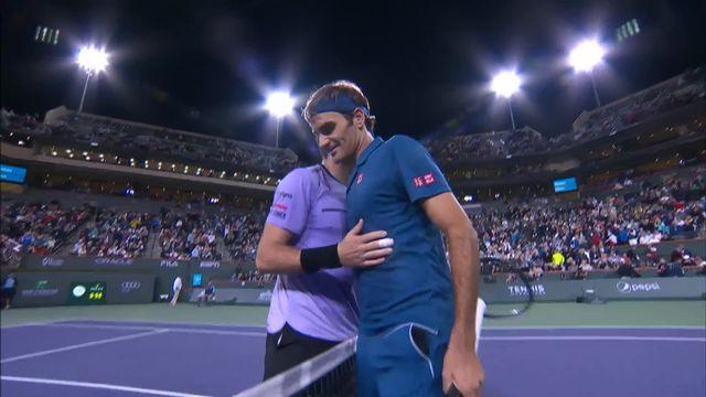 Indian Wells (USA), 1-16e : S.Wawrinka – R.Federer 3-6, 4-6: le meilleur de la rencontre [RTS]