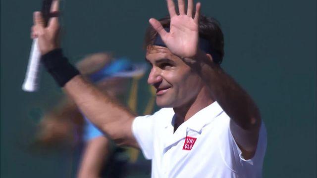 Indian Wells (USA), 1-8e: K.Edmund (GBR) – R.Federer 1-6, 4-6: le meilleur de la rencontre [RTS]