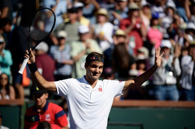 Roger Federer a été expéditif face à Kyle Edmund. [Mark J. Terrill - Keystone]