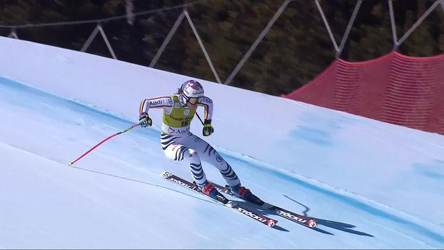 Soldeu (AND), Super-G dames: Viktoria Rebensburg (ALL) s'impose devant Tippler (AUT) et Brignone (ITA) [RTS]