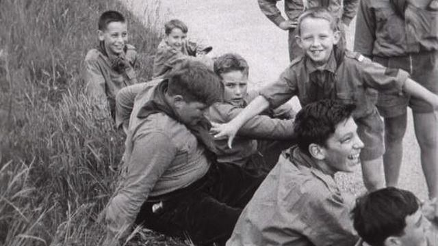 Scouts en 1956. [RTS]