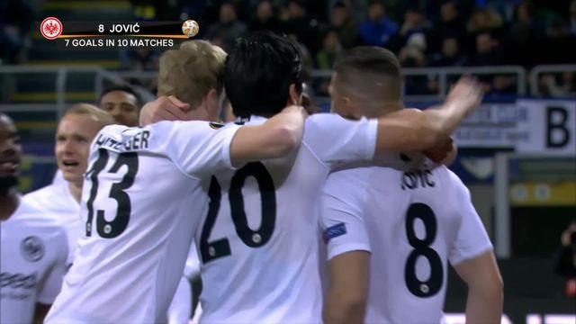 1-8e retour, Inter - Eintracht Francfort (0-1): l'Eintracht fait chuter l'Inter passe en 1-4 [RTS]