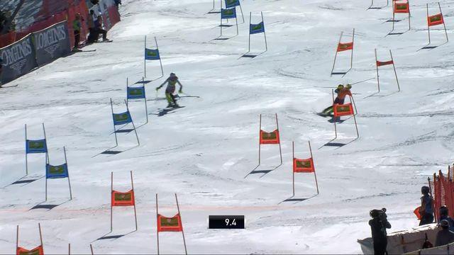 Soldeu (AND), team event, quarts: Anna Swenn Larsson offre le premier point à la Suède face à Aline Danioth [RTS]