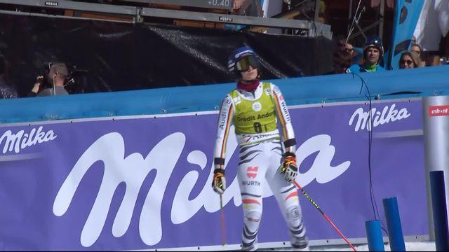 Soldeu (AND), team event, 1-2: Aline Danioth battue face à Lena Dürr [RTS]