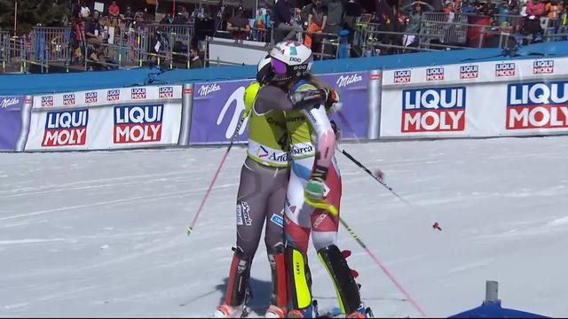Soldeu (AND), team event, finale: Stjernesund amène le premier point à la Norvège face à Aline Danioth [RTS]