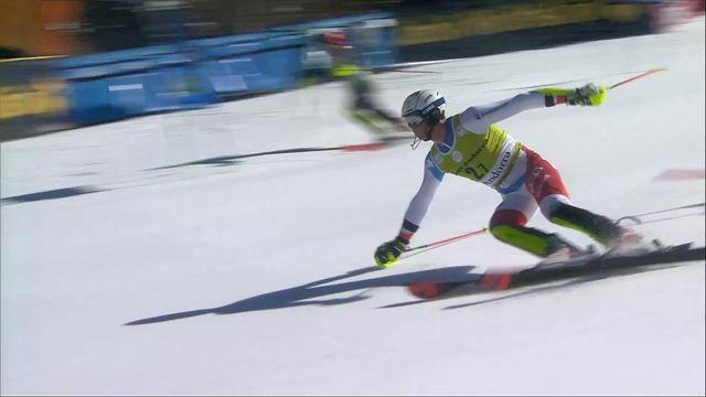 Soldeu (AND), team event, finale: faute de Ramon Zenhäusern qui donne un second point à la Norvège [RTS]